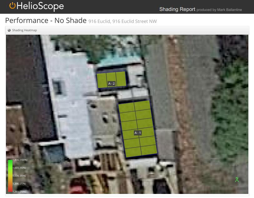 solar shading analysis sample without build - honeydew energy advisors